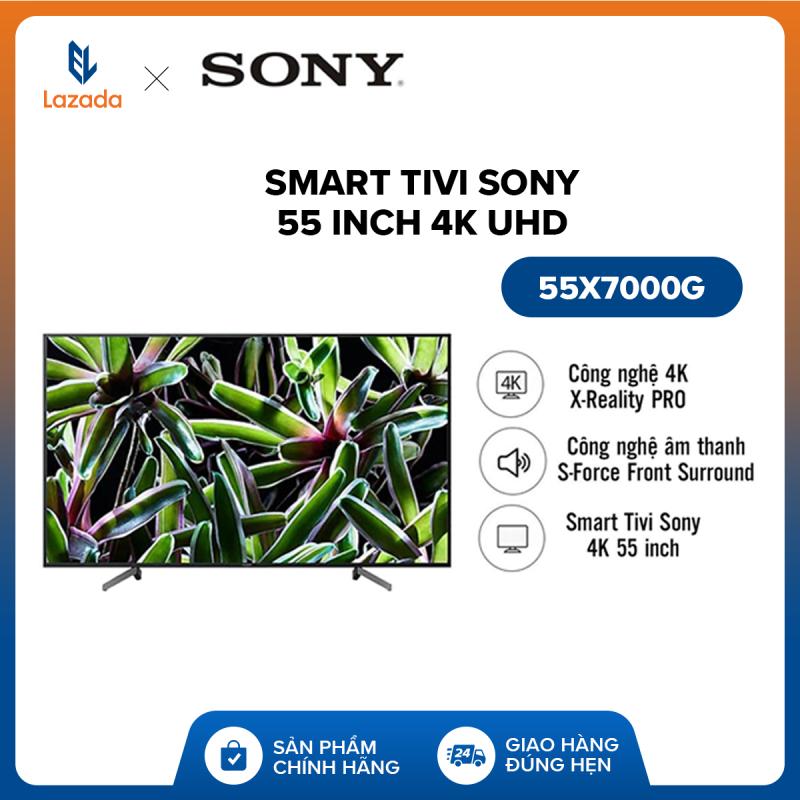 Bảng giá Smart Tivi Sony 55 inch 4K UHD 55X7000G - Công nghệ 4K X-Reality PRO - Hệ điều hành Linux OS - Hàng Phân Phối Chính Hãng - Bảo hành 2 năm