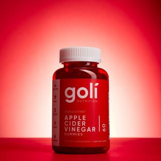 Kẹo dẻo giảm cân giấm táo Goli Apple Cider Vinegar 60 viên USA thumbnail