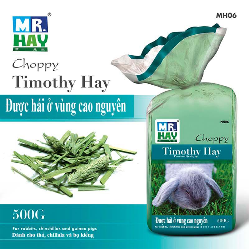 Cỏ Timothy Cho Thỏ 500g