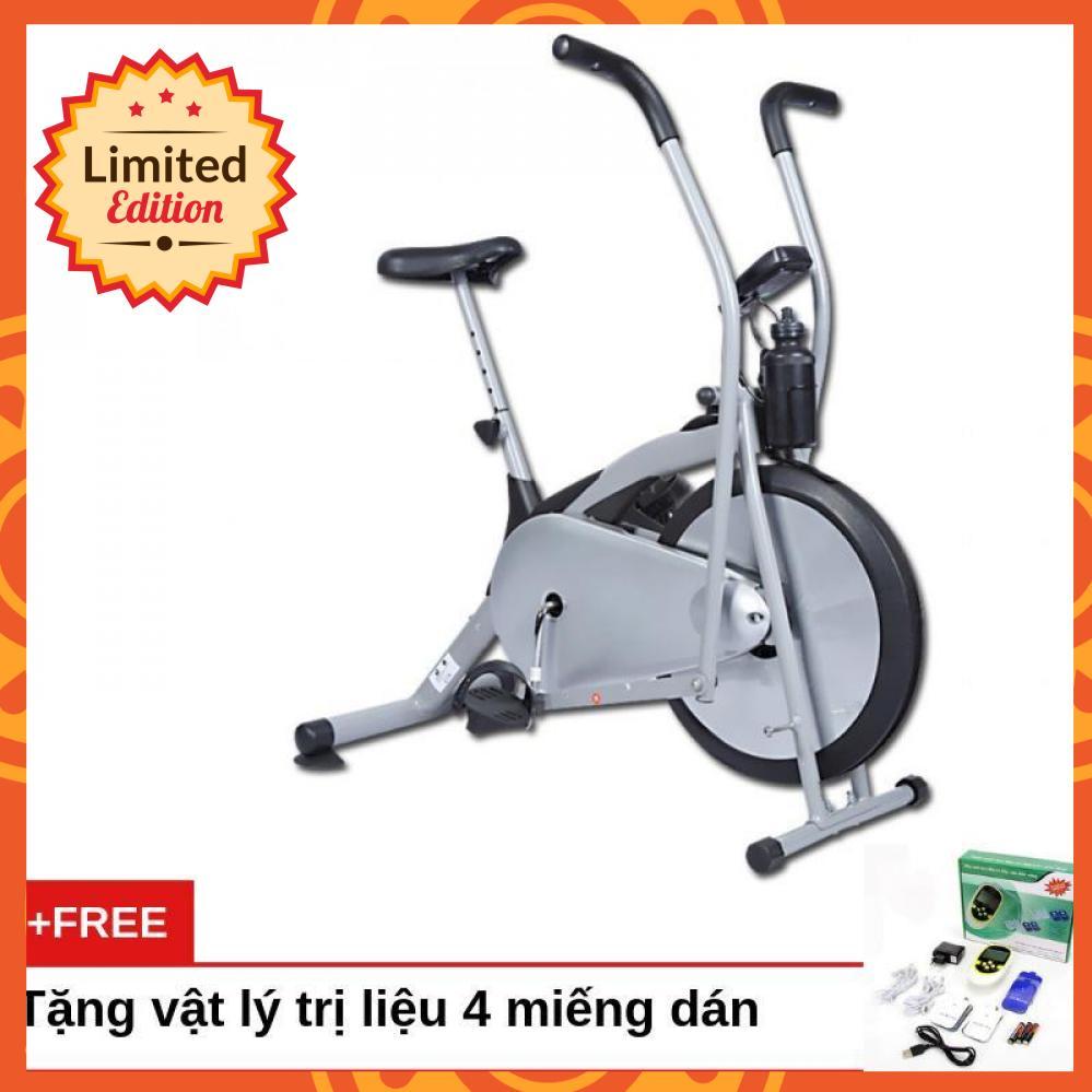 Bảng giá Xe đạp tập thể dục Air Bike (Xám) - Bảo hành 12 tháng + Tặng vật lý trị liệu 4 miếng dán