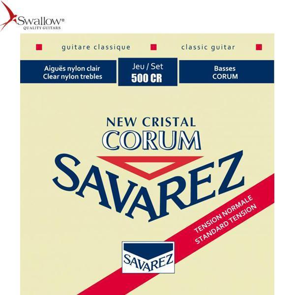 Bộ dây đàn Classical Guitar SAVAREZ NEW CRISTAL CORUM 500CR