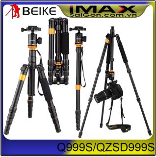 [HCM]Chân máy ảnh Tripod Monopod Q-999S + Remote cho máy ảnh thumbnail