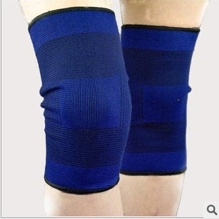 Bó gối thể thao - bảo vệ đầu gối co giãn tránh chấn thương Xanh - 1 đôi
