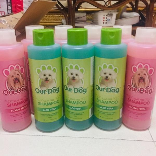 Dầu tắm nhập khẩu từ Úc cho chó và mèo Our Dog 1Lit