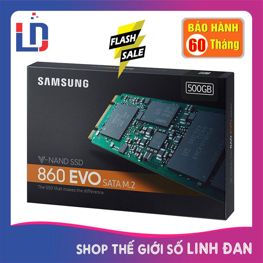 Ổ cứng SSD samsung 500GB 860 Evo M.2 SATA (new version)
