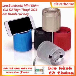 loa bluetooth mini giá rẻ - loa nghe nhạc bluetooth mini kiêm giá để điện thoại xq3 nhiều màu sắc thumbnail