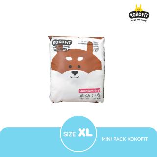 Tã Bỉm dán quần KOKOFiT Hàn Quốc size Minipack NB16 S14 M12 L11 XL10 Jumbo9 - Siêu Thấm Chống Tràn Khô Thoáng Không Gây Hầm Bí Cho Làn Da Bé thumbnail