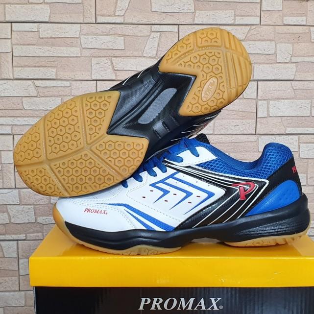 Giày thể thao Promax 19003 mầu trắng xanh chuyên dụng cầu lông, bóng chuyền, bóng bàn - Giày thể thao chuyên nghiệp SPORTSVIET, giày cầu lông Promax PR19003 giá rẻ