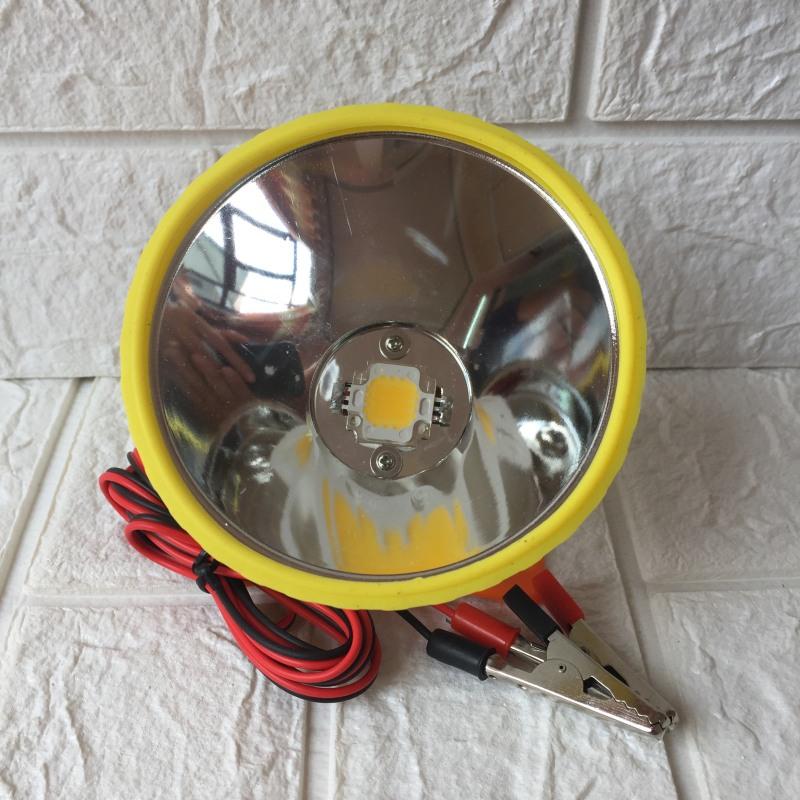 Đèn Đội Đầu Siêu Sáng Kẹp Bình 12V YD 619