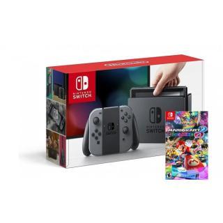 [TRẢ GÓP 0%] Máy chơi Game Nintendo Switch With Neon Blue Red Joy - Con + Kèm Đĩa Game Mario Kart 8 Deluxe + Miếng Dáng Cường Lực thumbnail