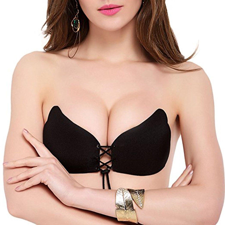 Bộ áo ngực không dây dán nâng ngực Vbra, áo bra, áo ngực, áo lót, áo nịt ngực tại Shoptienich92
