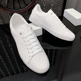 Giày thể thao nam da nhập Poly Synthetic thiết kế vân nổi thời trang LC19 4