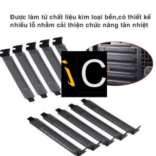 Chắn Card VGA PCI Phía Sau thùng Case - chắn case - chắn khe pci thumbnail
