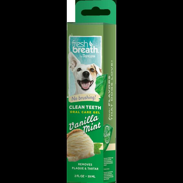 Gel làm sạch mảng bám, mảng ố răng chó mèo Tropiclean USA
