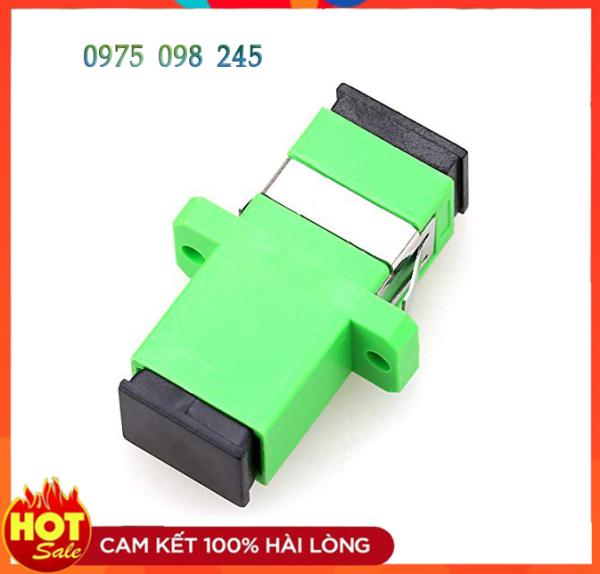 Bảng giá 10 Khớp Nối Đầu Sợi Quang Coupler SC-SC APC Adapter Phong Vũ