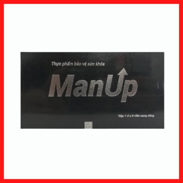Viên uống tăng cường sinh lý nam ManUp - Giúp bổ thận tráng dương, tăng cường sinh lực cho phái mạnh
