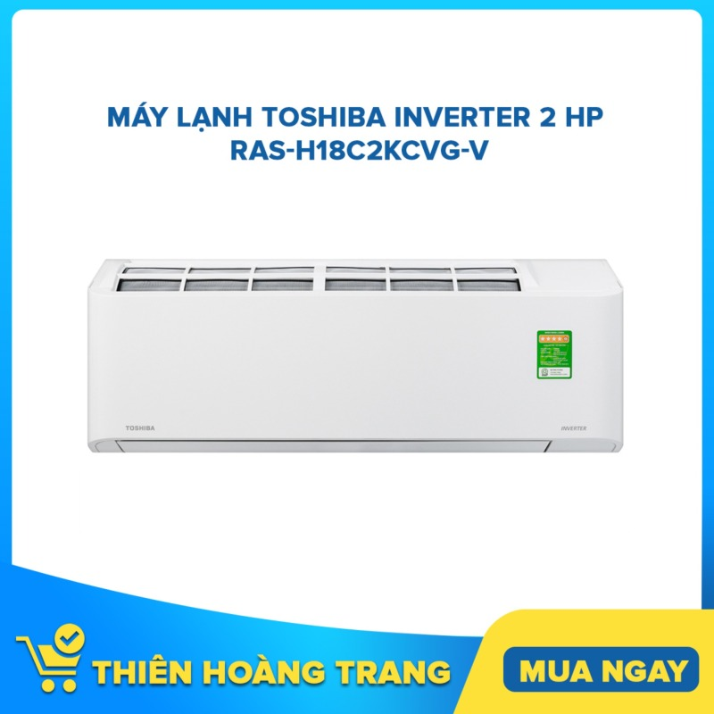 Bảng giá Máy lạnh Toshiba Inverter 2 HP RAS-H18C2KCVG-V