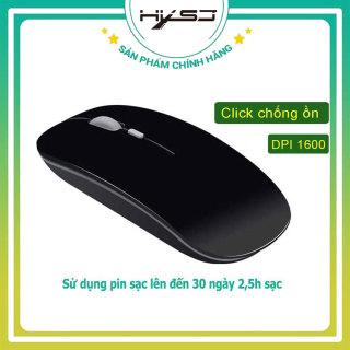 Chuột không dây sạc pin siêu mỏng 2.4GHz HXSJ M01 không gây tiếng ồn sạc 1 lần dùng 1 tuần cho Laptop macbook PC Tivi - Hàng Chính Hãng BH 12 tháng thumbnail