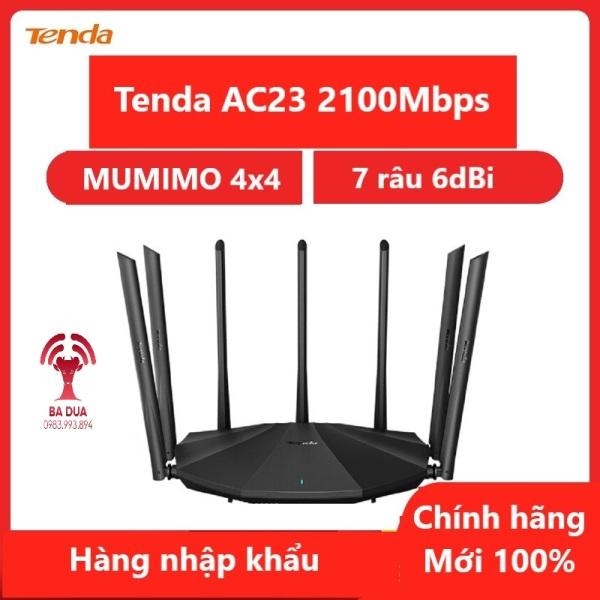 Bảng giá Bộ Phát Wifi Router Wifi Tenda AC23 AC2100Mbps Phong Vũ
