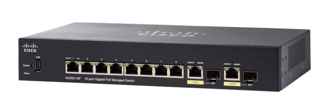 Giá SWITCH 8 PORT CISCO SG350-10