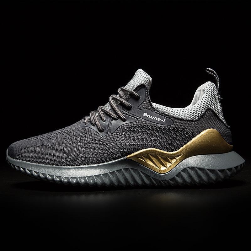 Giày nam GN304 - Giày thể thao nam sneaker thoáng khi cao cấp đế siêu nhẹ, chống lún, chống trơn trượt, lót thể thao hút ẩm không hôi chân phong cách mạnh mẽ, cá tính