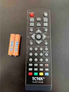 Điều khiển đầu kĩ thuật số DVB tctek 377 xin thumbnail