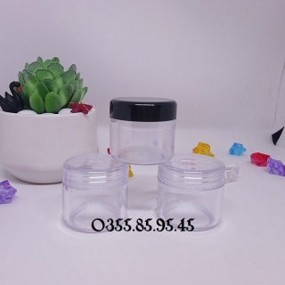Hũ nhựa chiết tròn trong có lót 30g thumbnail