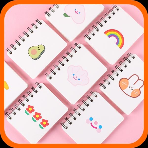 Mua Sổ Mini cầm tay hình bé BƠ cute - Giấy dày dặn, ghi êm - Sổ ghi kế hoạch, note việc, thời gian giá rẻ