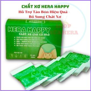 Chất Xơ HERA HAPPY CX01 - Chất xơ hòa tan - Hỗ trợ táo bón Hiệu Quả (Hộp 15 Gói) thumbnail