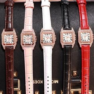 Sập sàn(HÌNH THẬT) Đồng hồ thời trang nữ DZG dây da đính đá cực đẹp MS3367 thumbnail