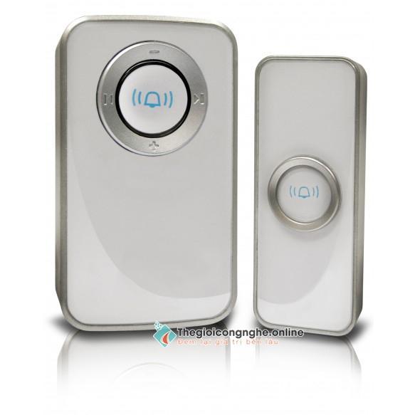 Chuông cửa không dây: 1 chuông, 1 nút bấm - Hỗ trợ nhà cao tầng