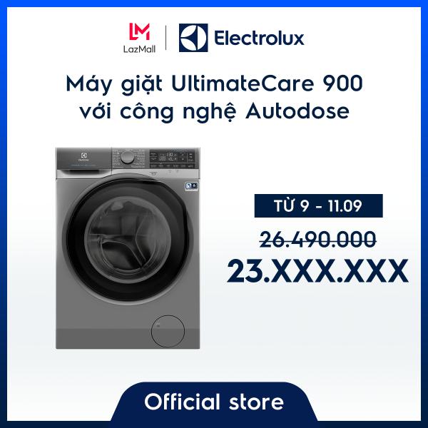 Bảng giá Máy giặt 11kg Electrolux EWF1141SESA- Công nghệ Autodose mới - Dòng cao cấp (xám) - Tự động tính nước giặt & xả để đảm bảo quần áo sạch & bền hơn - Hàng chính hãng Điện máy Pico