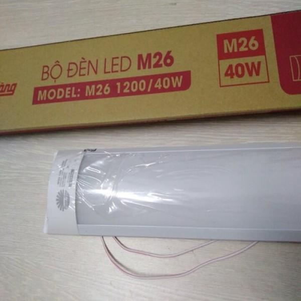 Bộ đèn LED  bán nguyệt M26 - 40W Rạng Đông Model: M26 1200/40W 6500K