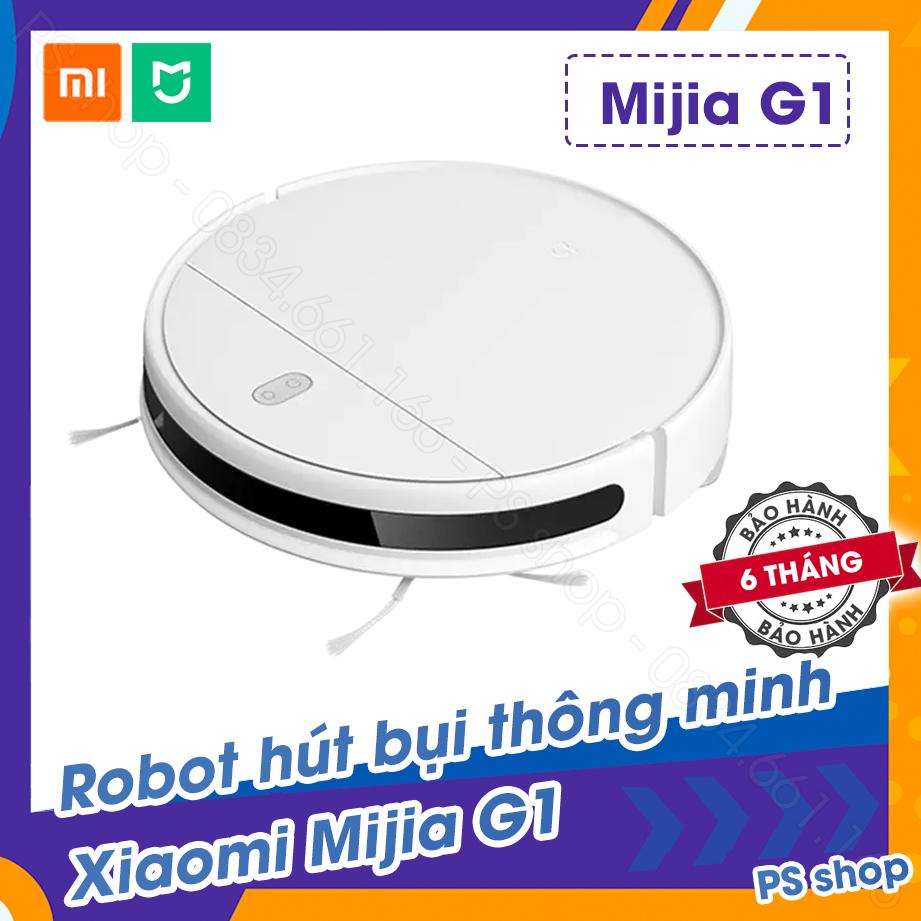 Robot hút bụi Xiaomi Mi Robot Vacuum-Mop Essential (G1) - Mijia G1 2020 [ BẢO HÀNH 6 THÁNG ]