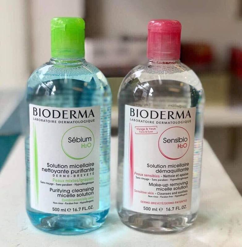 Tẩy trang Bioderma 500ml giá rẻ