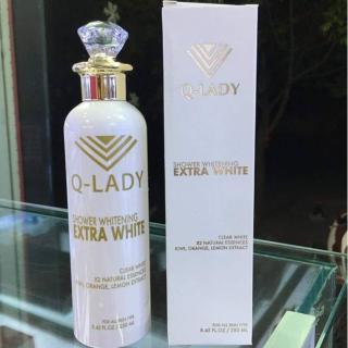 Sữa tắm làm trắng da Q - LADY EXTRA WHITE SHOWER 250ml thumbnail