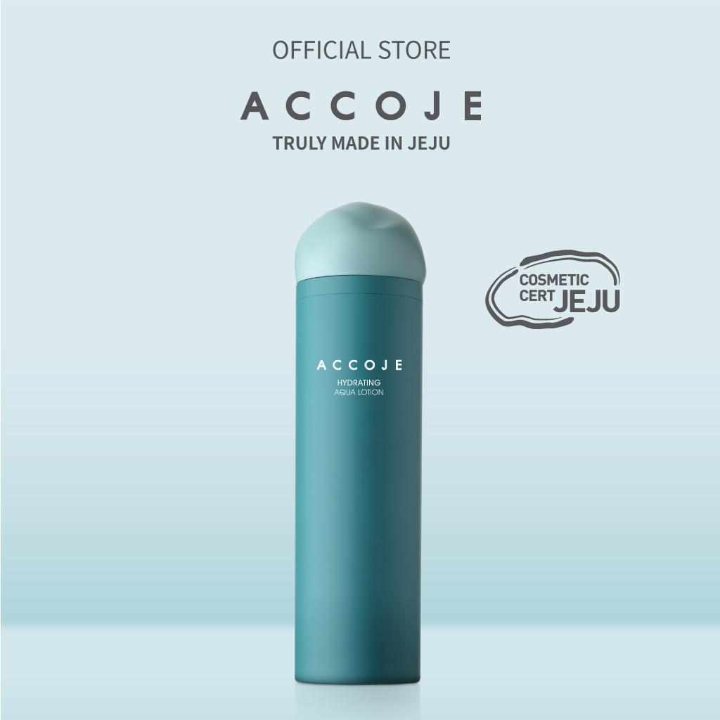 Sữa dưỡng cấp ẩm Accoje Hydrating Aqua Lotion