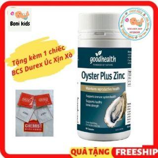 hàu biển Úc Goodhealth Oyster Plus Zinc 60 v thumbnail