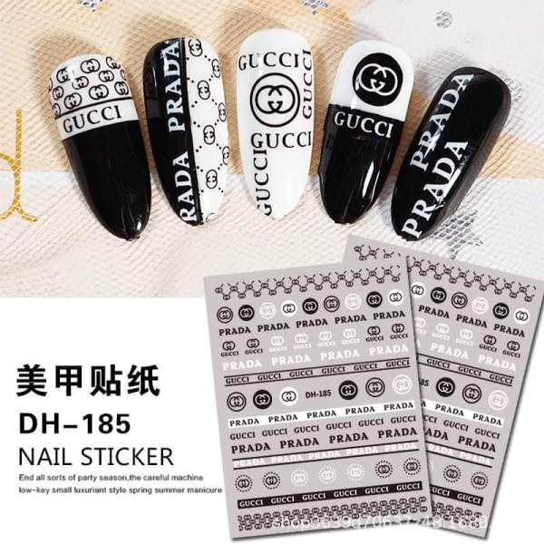 Hình dán sticker nail trang trí móng giá rẻ