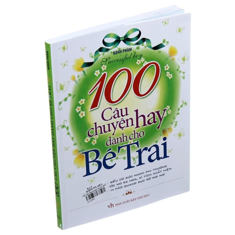 Cuốn sách 100 Câu Chuyện Hay Dành Cho Bé Trai - Tác giả: Bành Phàm