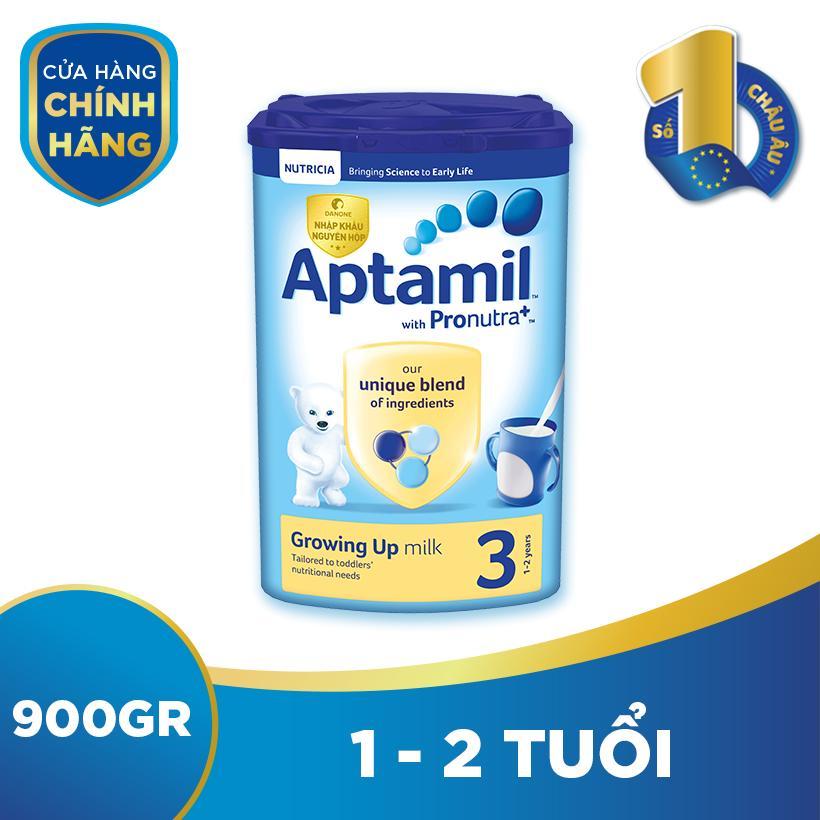 Sữa bột Aptamil Pronutra số 3 900g (Cho trẻ từ...