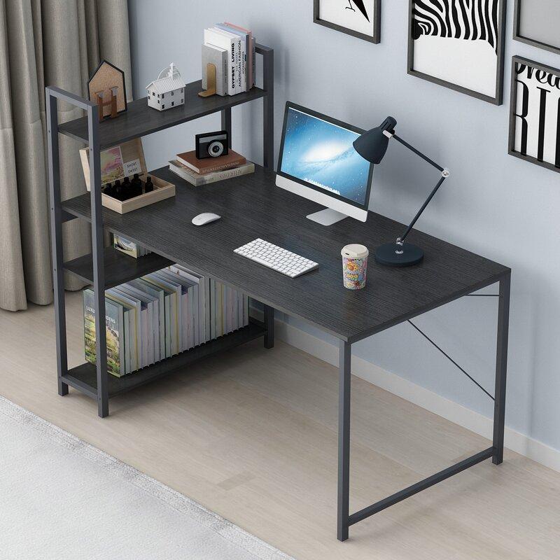 Bàn làm việc văn phòng đa năng tiện ích Tâm House mẫu mới 2019 ABXG006 120X55cm thiết kế sang trọng, độ bền cao (Nhiều màu)