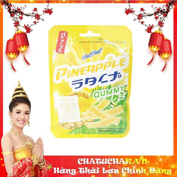 Kẹo Gummy vị thơm chua ngọt - Gummy Pineapple Salt thái lan