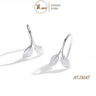Bông tai bạc 925 kiểu dáng thiết kế hình lá cây phong cách Hàn Quốc ANTA Jewelry - ATJ3047 thumbnail