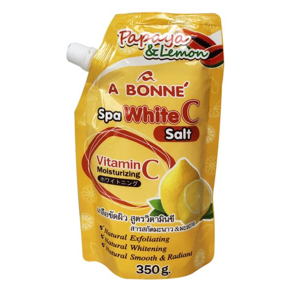 [HCM][CHÍNH HÃNG] Muối Tắm Sữa A Bonne Spa White C Salt Thái Lan 350g