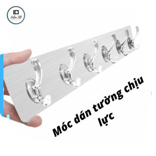 Móc dán tường nguyên khối ,gồm 6 móc chịu lực chịu nhiệt - Móc dán tường chịu lực JULIA LD thumbnail