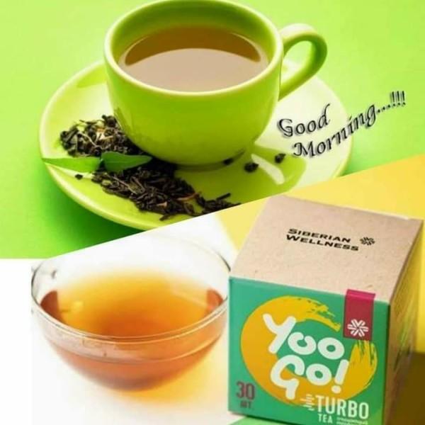 Trà thảo mộc yoo go turbo tea