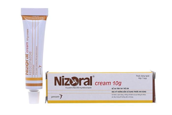 Kem trị nấmvà  lang ben Nizoral tuýp 10gram nhập khẩu