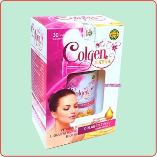 Viên uống đẹp da Colgen Extra- Thành phần Maca, Glutathione 400mg, Clagen tuyp I Nhập Khẩu Ý- Hộp 30 viên 3