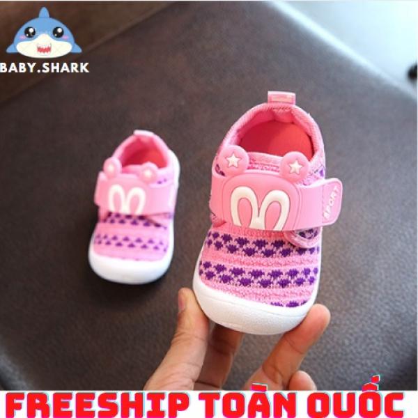 Giá bán Giày bé gái- giày tập đi đế kèn cho bé gái